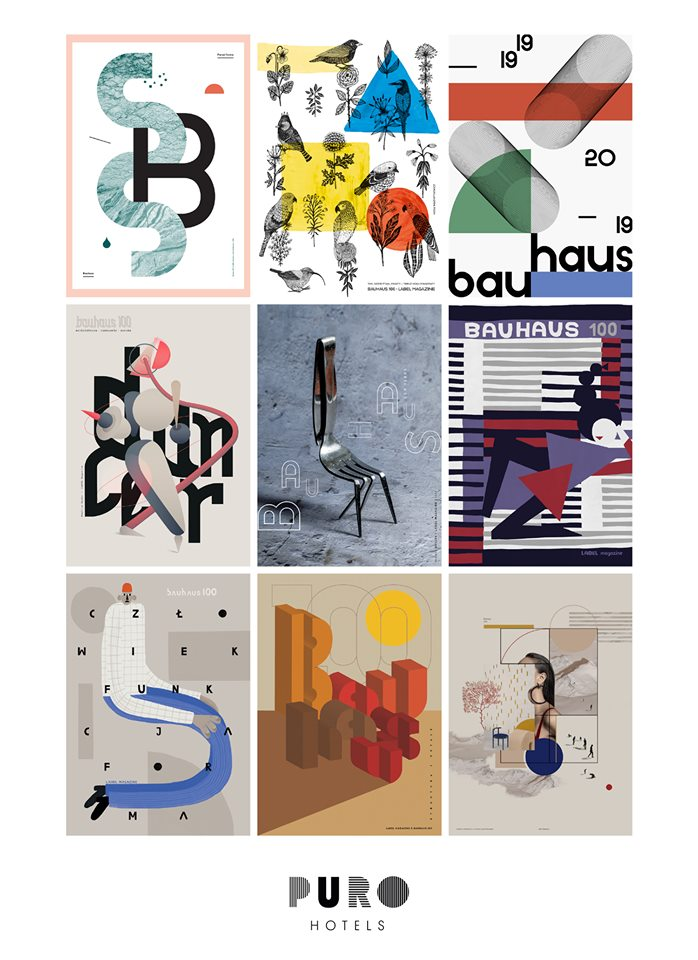 Celebrating the 100th anniversary of the Bauhaus with Polish illustrators